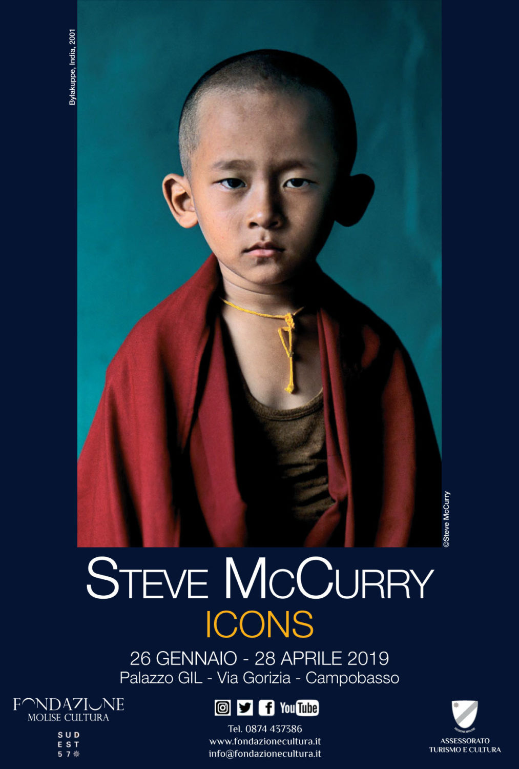 poster exhibition mccurry campobasso