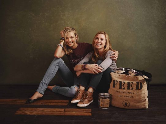 Karlie Kloss and Christina Tosi for FEED Projects