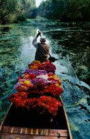 Kashmir flower seller