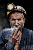 Smoking Coal Miner