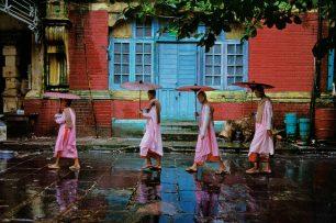 Procession of nuns