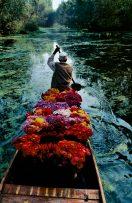 Kashmir flower seller