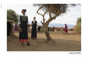 Steve McCurry for Valentino Campaign