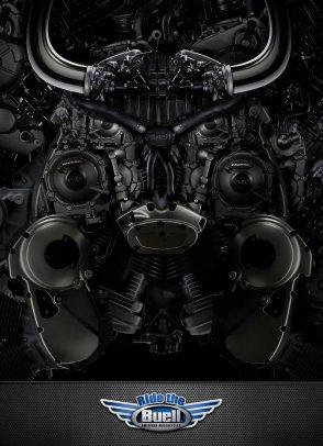 motore a forma di toro