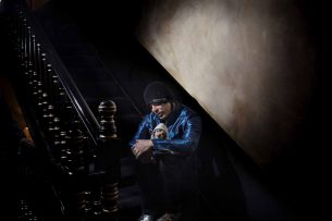 Mickey Rourke portrait