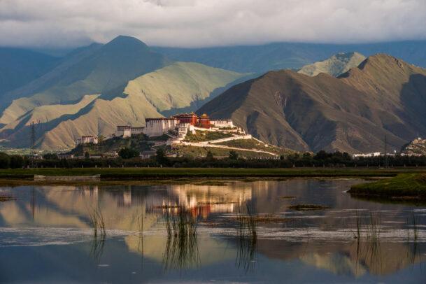 potala palace at Lhasa in Tibet