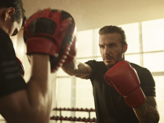 David Beckham boxing by Joey L