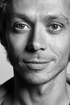 portrait of Valentino Rossi by Eolo Perfido
