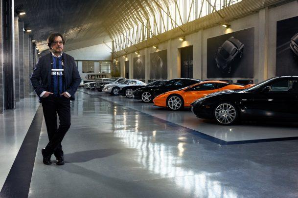 Zagato for Pirelli Portrait by Eolo Perfido
