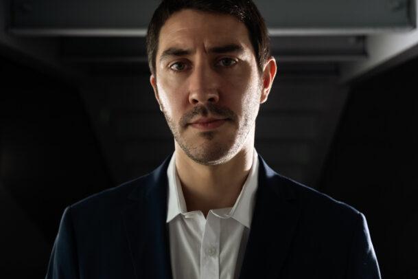 portrait of Luca Belli by Eolo Perfido