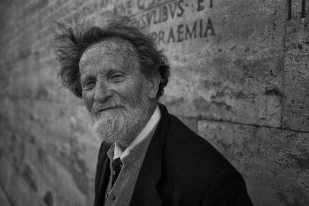 portrait of man in Rome