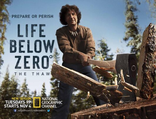 advertising poster for Life Below Zero by Joey L.