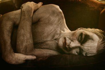 clown resting