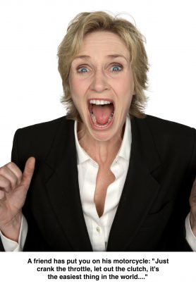 Jane Lynch for In Character by Howard Schatz