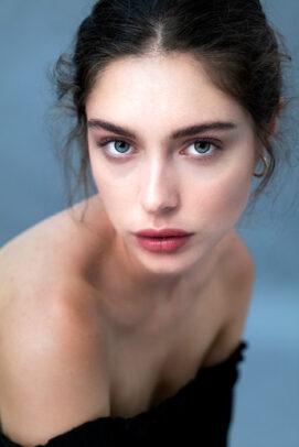 portrait of Silvia Bandera by eolo perfido