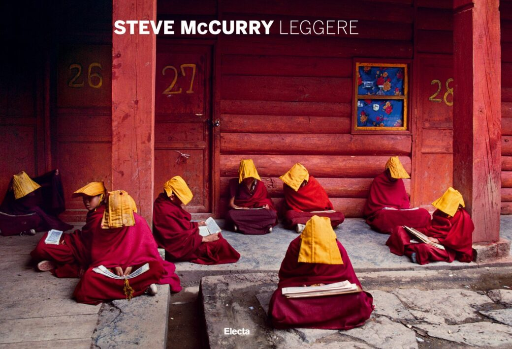 cover of Leggere book by Steve McCurry