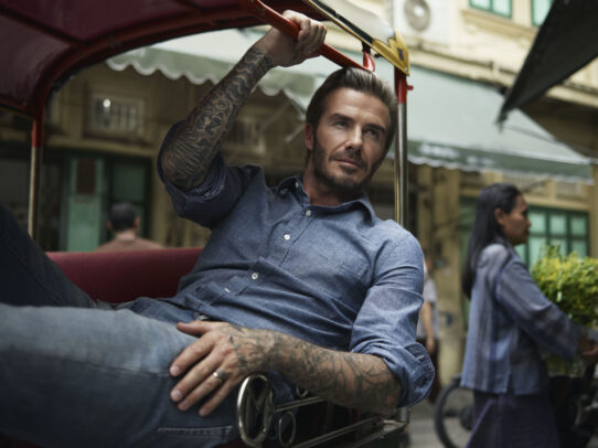 David Beckham by Joey L.