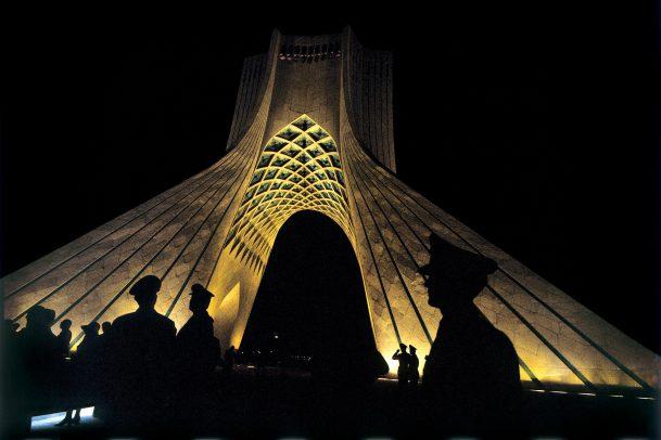 Azadi Tower in Teheran