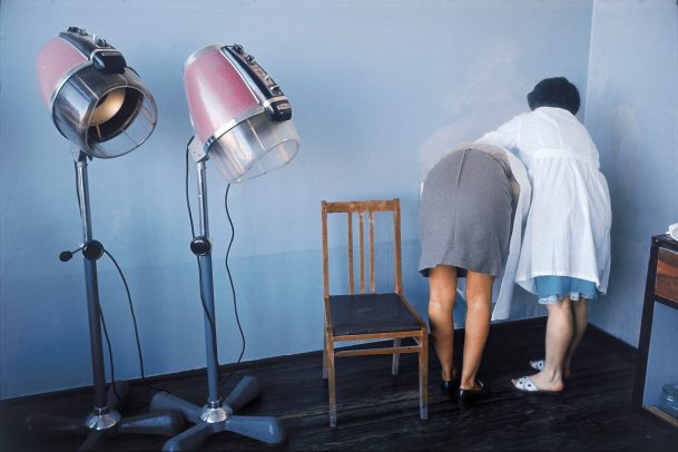 two women at the hairdresser