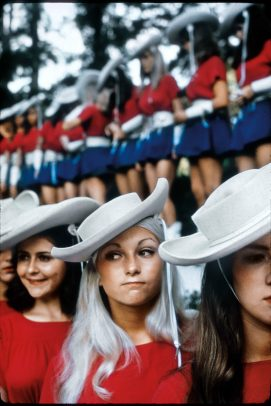 texan rangerettes lining up