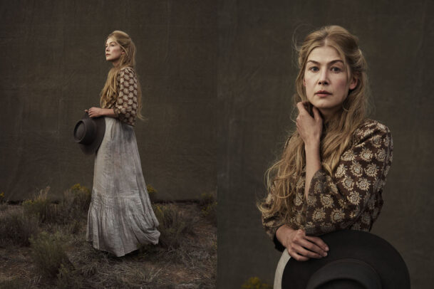 Rosamund Pike for HOSTILES film