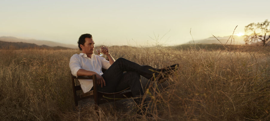 Matthew McConaughey in countryside by Joey L