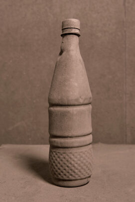 dusted bottle