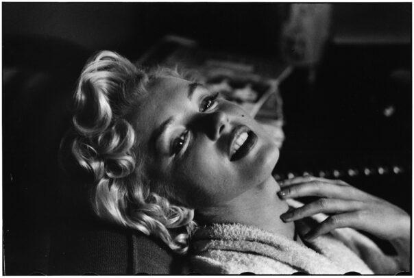 Marilyn Monroe pictures by Elliott Erwitt