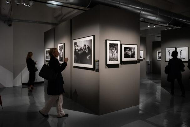 Elliott Erwitt Family exhibition installation at MUDEC Milano