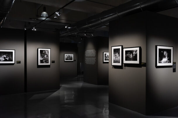 Elliott Erwitt Exhibition Family MUDEC installation