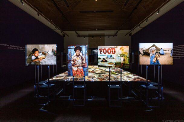McCurry Cibo Forli exhibition installation