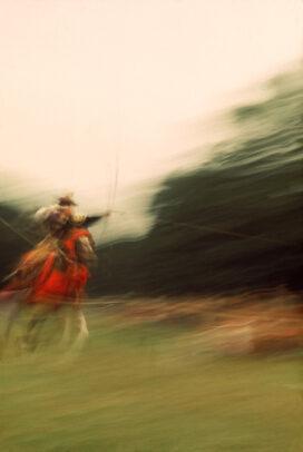 Yabusame or horseback archery