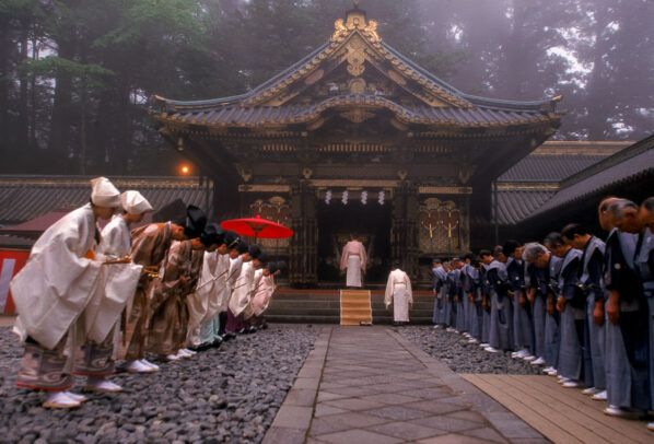 Japanese Shinto ceremony