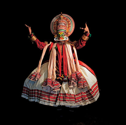 actor of Kathakali drama of Kerala