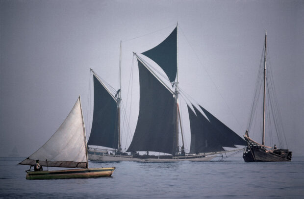 sail ship in south Asia
