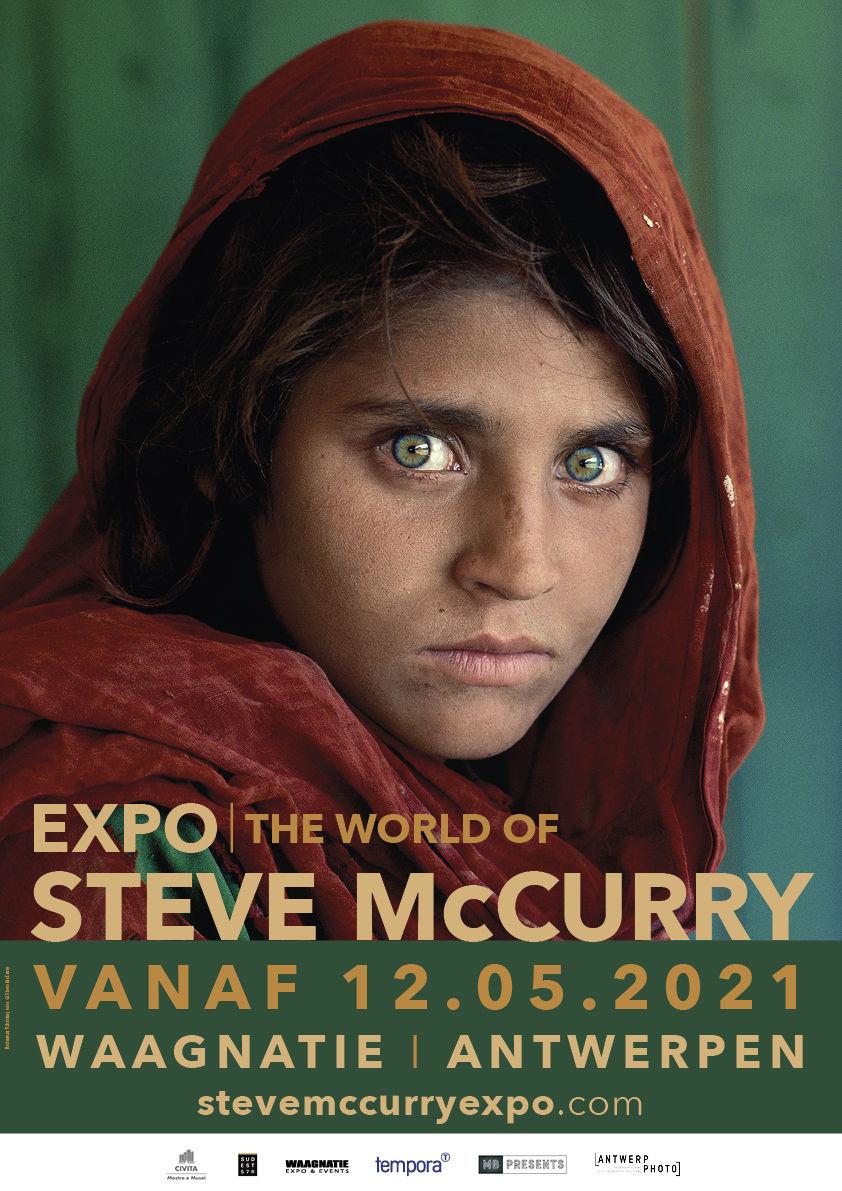 McCurry Antwerp The World of Steve McCurry